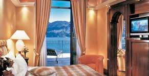Hotel Room in Lake Como